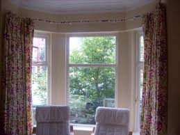 How To Hang Curtains On A Bay Window Uncategorized Hanging Curtains In Bay Window In Window