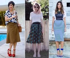 saia mid como escolher o modelo de saia ideal para você fashion