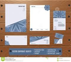 Wood Texture Business Card Corporate Identity Set Presentation Folder Letterhead Envelope