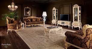 classic living room wall unit painted wood villa venezia