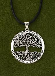 pendants necklaces wiccan tree of pendant