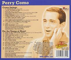 perry como como swings for the at