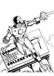 iron man coloring pages u2013 birthday printable