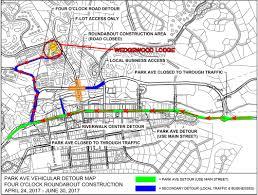 Riverwalk Map Roundabout Construction Wedgewood Lodge