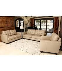 Top Grain Leather Living Room Set Living Room Sets Merano 3 Leather Set