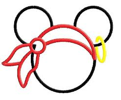 outline mickey mouse car pictures clip art library