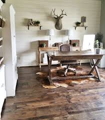 Diy Rustic Desk by Cozy Workspaces Home Offices With A Rustic Touch