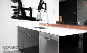novaro cuisine armoires de cuisine tuxedo armoires de cuisines québec clé en