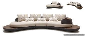 Contemporary Curved Sofa Fascinating Sofa Unique Design Ideas Best Ideas Exterior