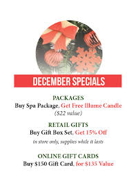 gift card specials 2016 12 gift specials looma spa