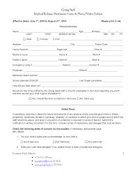 Curriculum Vitae Medical Doctor Medical Return Work Forms Templates