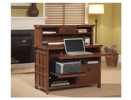 Mission Style Computer Desk With Hutch by Steinhafels Mission Pasadena Writing Desk