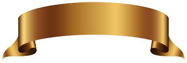 orange halloween ribbon background golden banner transparent png clip art image gallery
