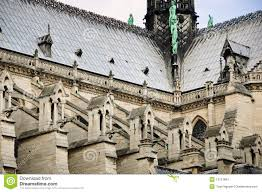 flying buttresses stock images image 13107694