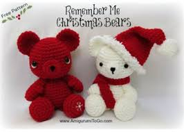Teddy Bear Christmas Tree Decorations by 15 Free Crochet Christmas Ornament Patterns Interweave