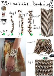 beaded cuff bracelet patterns images Diy beaded bracelets you bead crafts lovers should be making diy jpg