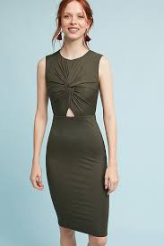 cut out dresses knotted cutout dress anthropologie