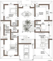 4 Bedroom House Plans In Kerala Double Floor Crepeloversca
