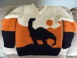 knitting pattern dinosaur jumper fo dinosaur sweater for my son what cha knittin knittinghelp