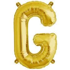 16 Shiny Gold Mylar Foil Letter Helium Balloons Birthday Party  G