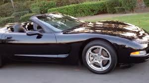 1998 corvette black sold 1998 chevrolet corvette convertible black