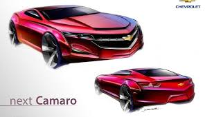 sixth camaro sixth generation 2016 camaro rendering gm authority
