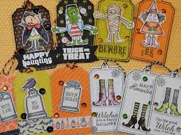 halloween card series 2016 day 8 of 13 gift tag assortments