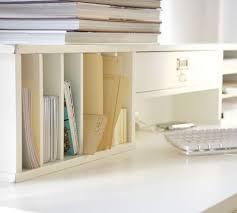 Desk Hutch Bookcase Bedford Smart Technology Desk Hutch Pottery Barn
