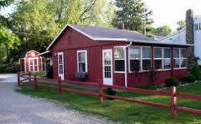 Red Cottage Inn Suites by Cottages Cabins U0026 Homes Lexington Mi