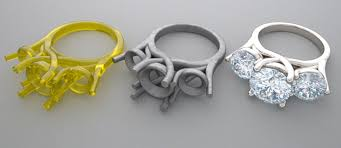 3d printed engagement ring handmade vs cast engagement rings soho gem jewelry boutique