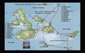 Galapagos Map Map Galapagos Archipelago 2012 World Bird Photos World Bird