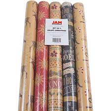 christmas kraft wrapping paper christmas wrapping paper deals sales