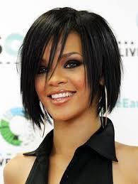 Bob Frisuren Rihanna by Rihanna With A Gorgeous Asymmetric Black Bob Rihanna Hair