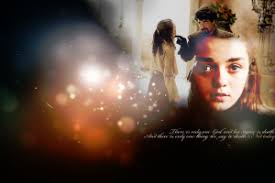 arya stark sansa stark wallpapers arya stark wallpapers walldevil
