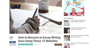 for essay writing