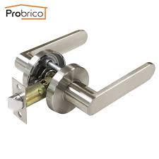 Interior Door Knobs Bulk by Aliexpress Com Buy Probrico Stainless Steel Passage Keyless Door