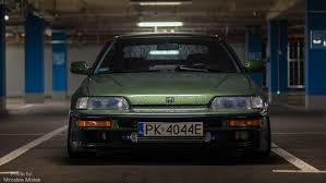 slammed honda crx honda crx b16a1 ee8 turbo 0 9bar boost stance forged youtube