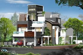 contemporary style house plans contemporary style house elevation kerala model home plans