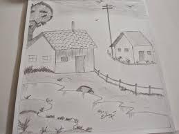 pencil drawings of landscapes pencil sketches landscapes
