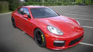 4 door porsche red 2014 porsche panamera first drive youtube