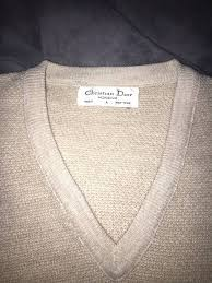 christian dior monsieur vintage christian dior sweater size l