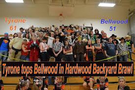 tyrone wins hardwood version of backyard brawl 61 51 u2013 tyrone