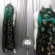 best emerald green vintage dress products on wanelo