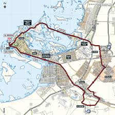 Map Of Abu Dhabi 2018 Abu Dhabi Tour Live Video Preview Startlist Route Results