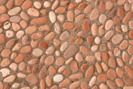 how to install an inexpensive pebble floor hunker