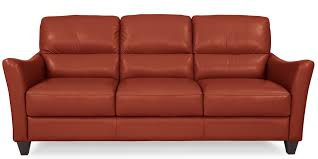 Madrid Leather Sofa by Bermuda Papaya Leather Sofa American Home Albuquerque Santa