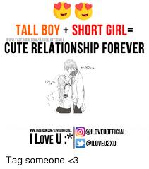 Facebook Relationship Memes - tall boy short girl www facebook comiloveuofficiall cute