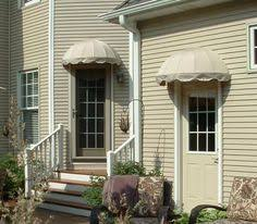 Do It Yourself Awning Residential Dome Awning Residential Awnings Pinterest Front