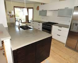 modern kitchen counter mode concrete ultra chic and modern concrete kitchen countertops