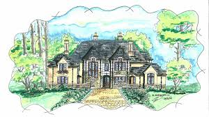 Luxury Home Plans With Basement Tudor House Plans 1920s Style Long 43 Hahnow